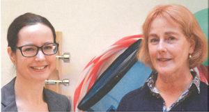 Lina Palmlöf (t.v.) och Christina Olsson
