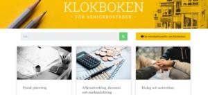 Klokboken för seniorbostäder – ny webbplats